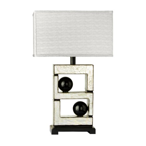 "Cal Lighting Bolzano 29"" H Table Lamp with Rectangle Shade"