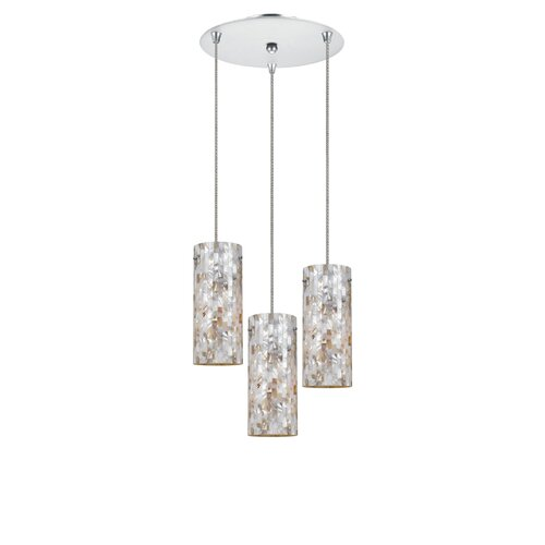 Line Voltage 3 Light Pendant