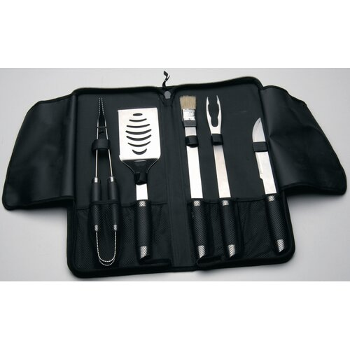 BergHOFF International Geminis 6 Piece BBQ Utensil Set