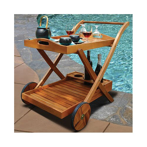 Hana Serving Cart