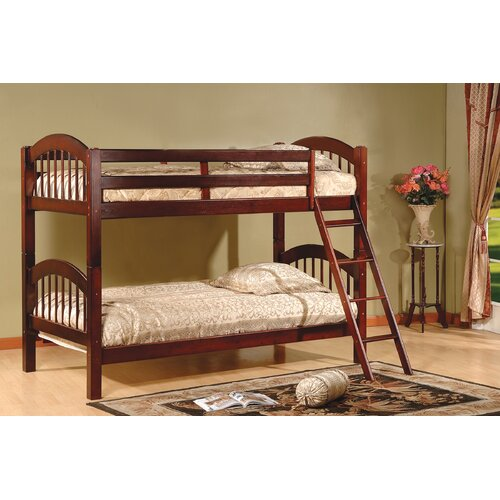 Twin over Twin Arch Stackable Bunk Bed