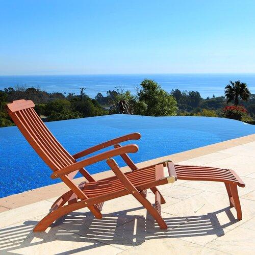 Vifah Steamer Lounge Chair