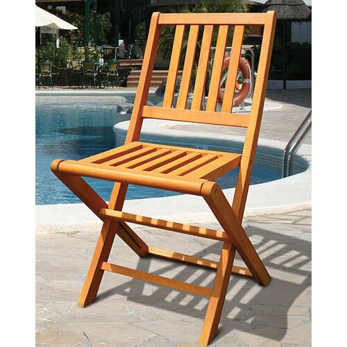 Vifah Marcana Folding Dining Side Chair (Set of 2)