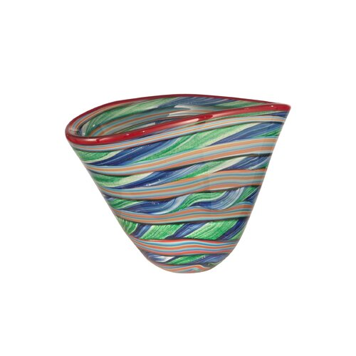 Dale Tiffany Striped Bowl