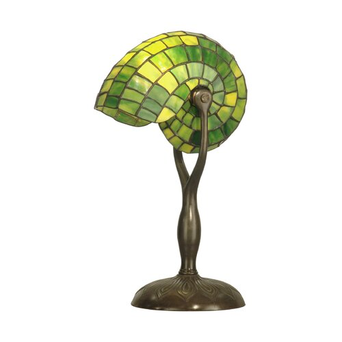 Dale Tiffany Nautilus 1 Light Table Lamp