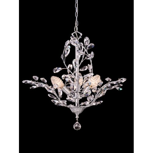 Dale Tiffany Teddington 3 Light Chandelier