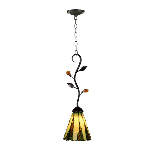 Tiffany Ripley 1 Light Mini Pendant