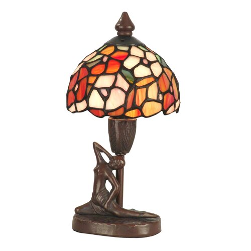 Dale Tiffany Mini Dogwood 1 Light Table Lamp