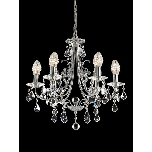 6 Light Indiana Ice Chandelier