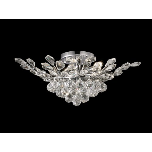 Dale Tiffany Balboa 6 Light Flush Mount