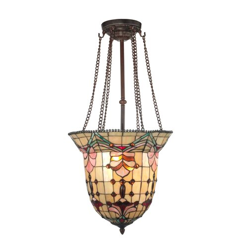 Dale Tiffany Geometric Foyer Pendant