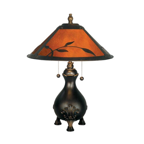 Dale Tiffany Mica 2 Light Table Lamp