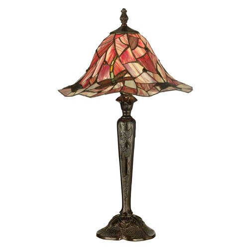 "Dale Tiffany Dragonfly 27"" H 1 Light Table Lamp"