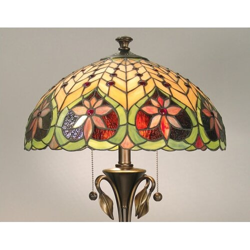 "Dale Tiffany Tiffany 26"" H Table Lamp with Bowl Shade"