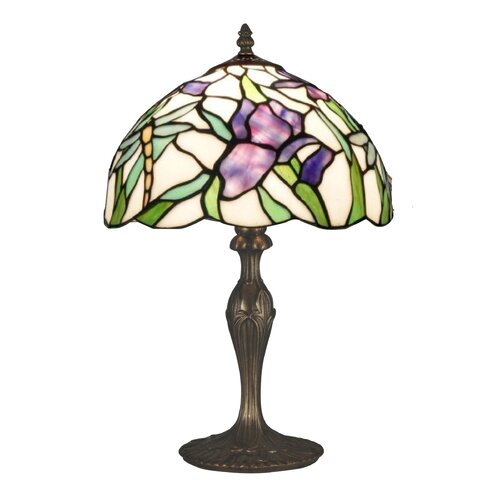 """Dale Tiffany Prose 19"""" H Table Lamp with Bowl Shade"""