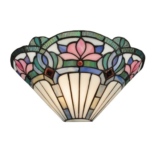 Wall Sconces Tiffany : Dale Tiffany Windham 1 Light Wall Sconce & Reviews Wayfair