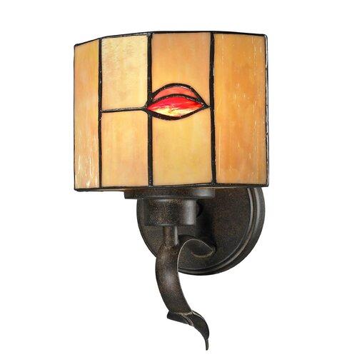 Dale Tiffany Fantom Leaf 1 Light Wall Sconce