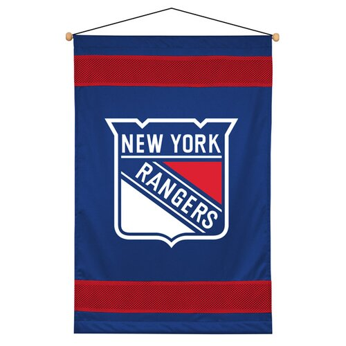 Sports Coverage Inc. NHL Sidelines Wall Hanging