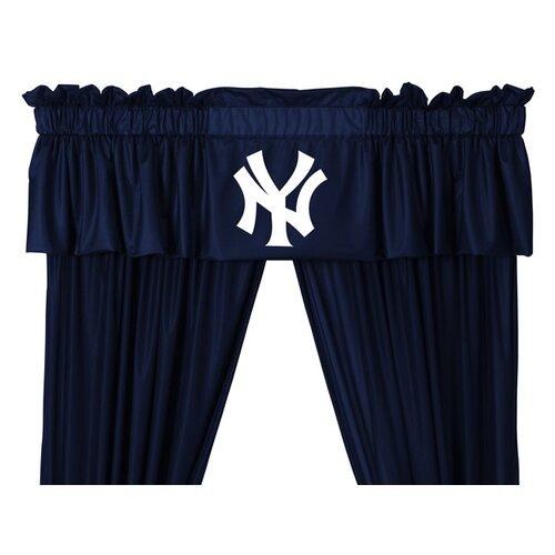 "Sports Coverage Inc. MLB New York Yankees 88"" Curtain Valance"