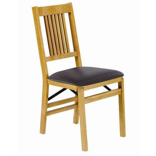 Stakmore Company, Inc. True Mission Wood Folding Chair