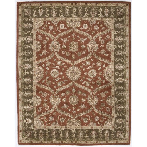 Rugs America Dynasty Rustic Brown Rug