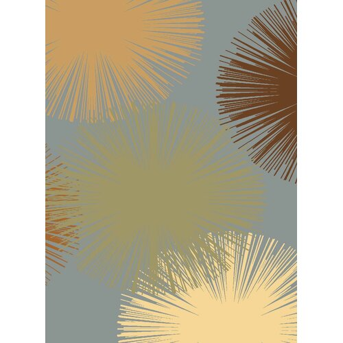 Rugs America Torino Light Blue Fireworks Rug
