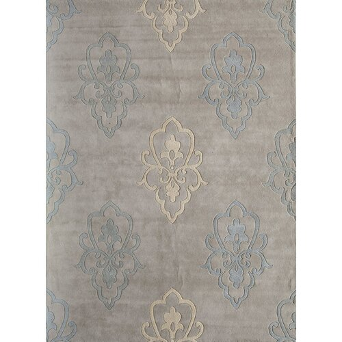 Rugs America Allure Silver Crown Rug