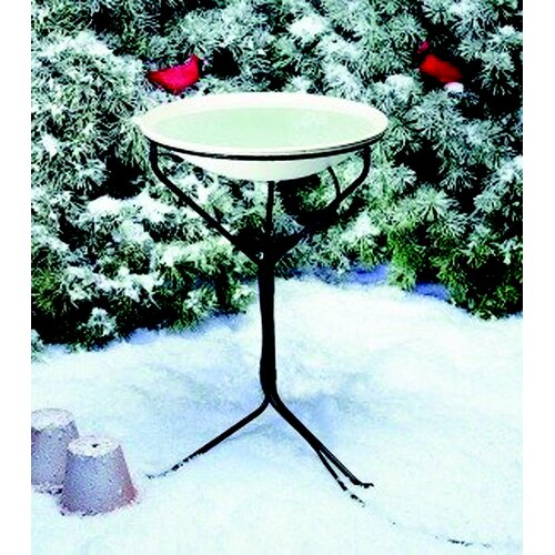 Allied Precision Industries Stand Heated Bird Bath