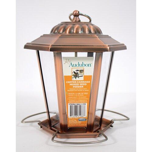 Audubon Carriage Lantern Decorative Bird Feeder