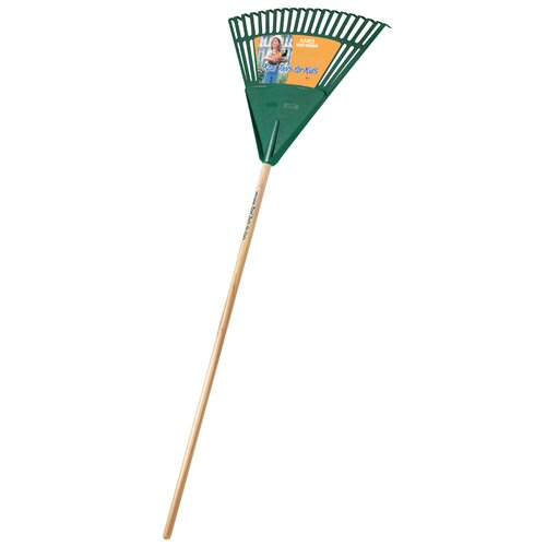 Ames Real Tools For Kids Poly Leaf Rake