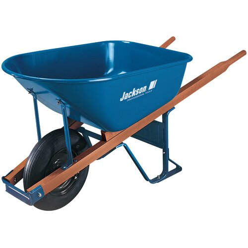 Ames 6 Cubic Steel Wheelbarrow
