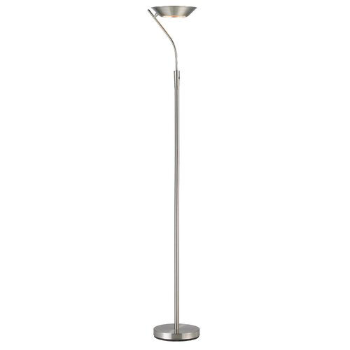 adesso saturn led torchiere floor lamp. Black Bedroom Furniture Sets. Home Design Ideas