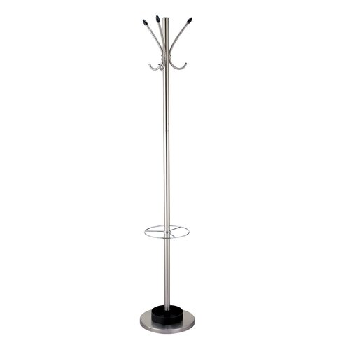 Adesso Coat Rack with Umbrella Stand