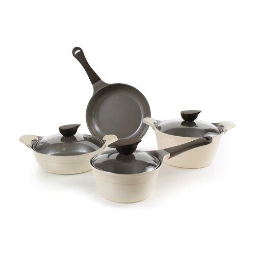 Eela 7 Piece Cast Aluminum Cookware Set