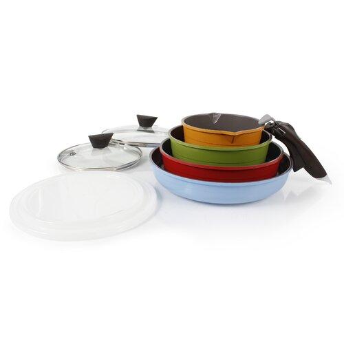 Midas 13 Piece Cast Aluminum Cookware Set