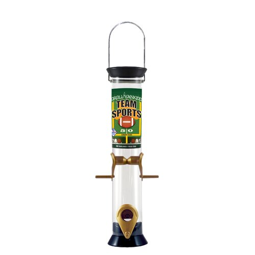 Droll Yankees Team Sports Tube Bird Feeder