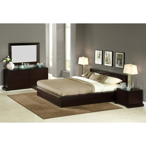 Lifestyle Solutions Bedroom Furniture: LifeStyle Solutions Zurich 4 Piece Bedroom Set & Reviews