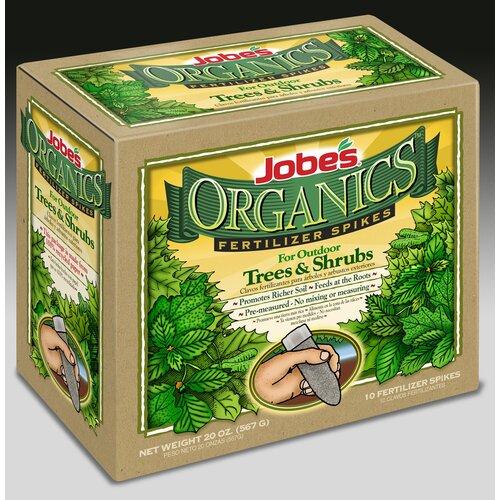 Easy Gardener Weatherly Organic Trees and Shrubs Fertilizer Spikes