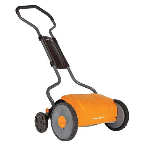 """Fiskars 17"""" StaySharp Push Reel Lawn Mower"""