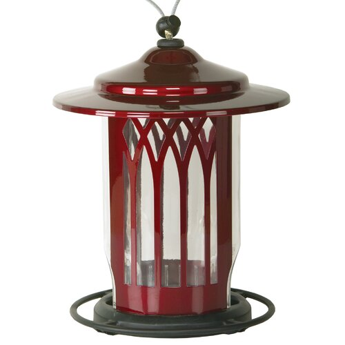 Homestead Scarlet Garden Arch Bird Feeder