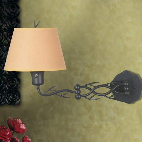 Wildon Home ® Peony Swing Arm Wall Lamp
