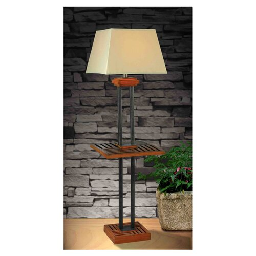 Wildon Home ® Hadley 1 Light Outdoor Floor Lamp