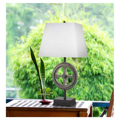 """Wildon Home ® Geary 30"""" H Table Lamp with Rectangle Shade"""