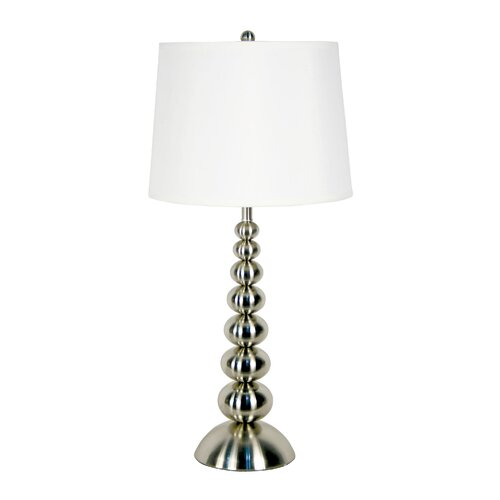 "Wildon Home ® Baubles 30"" H Table Lamp with Empire Shade"