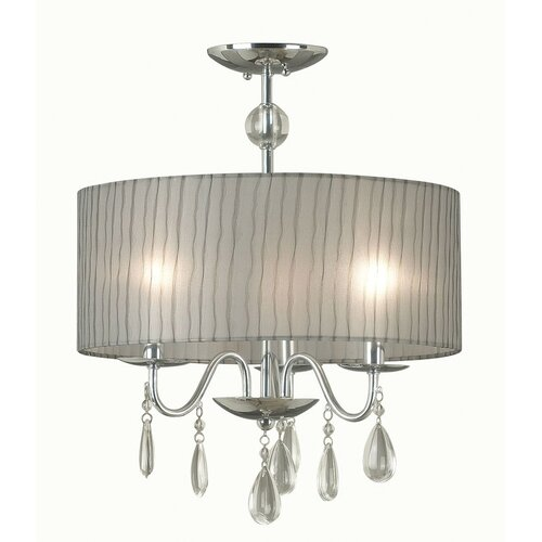 Wildon Home ® Arpeggio 3 Light Drum Pendant