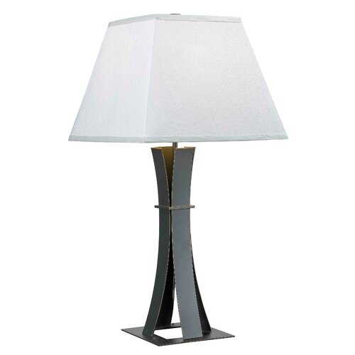 "Wildon Home ® Guilder 31"" H Table Lamp with Square Shade"