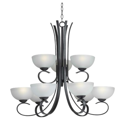 Wildon Home ® Garfield 9 Light Chandelier