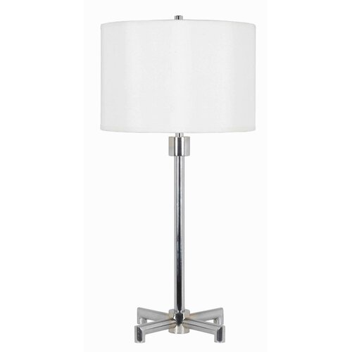 "Wildon Home ® Rogue 29"" H Table Lamp with Drum Shade"