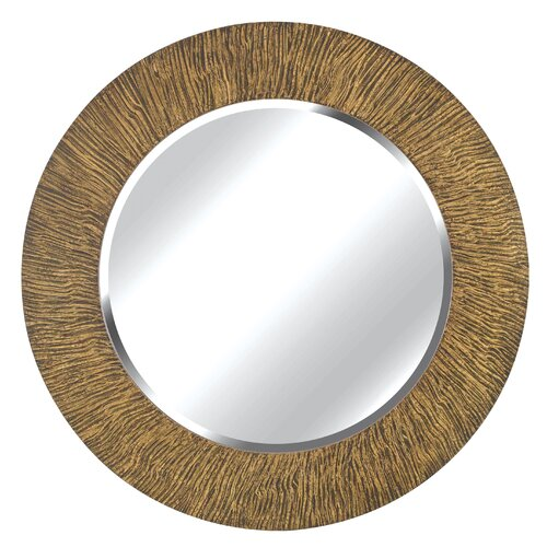 Wildon Home ® Burl Wall Mirror