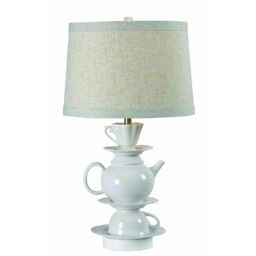 "Wildon Home ® Moriah 25.5"" H Table Lamp with Empire Shade"